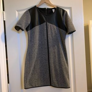 Dresses & Skirts - Nitrogen Panel Pleather Dress
